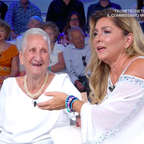 foto romina power ostetrica morta domenica in Mara Venier