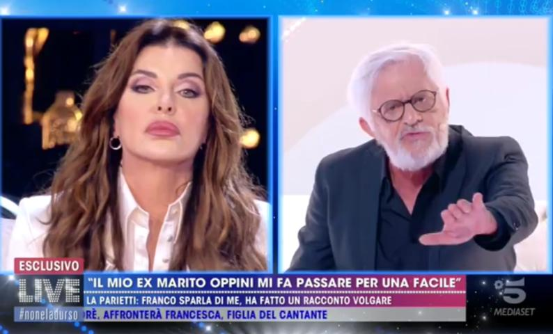 Foto Alba Parietti Franco Oppini