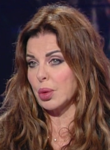 foto Alba Parietti a Storie Italiane, tumore