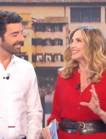 foto Alberto Matano e Lorella Cuccarini, 14 ottobre