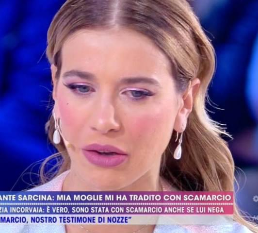 Foto Clizia Incorvaia Live Francesco Sarcina