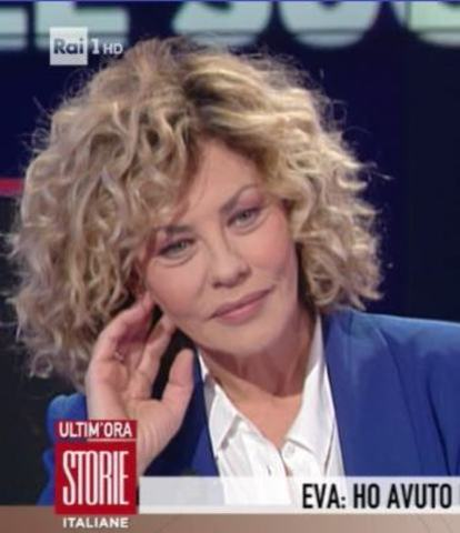 foto eva grimaldi storie italiane intervista daniele