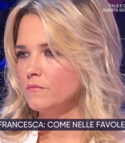Foto Francesca Barra a La vita in diretta