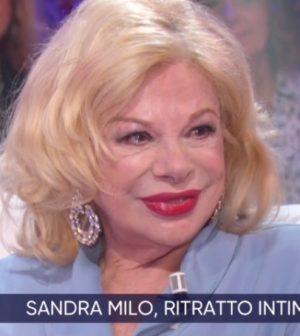 Foto Sandra Milo a La vita in diretta