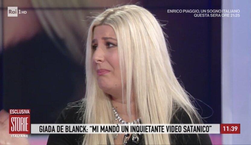 foto giada de blanck dramma a storie italiane