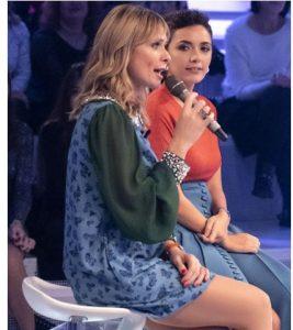 foto Serena Rossi e Serena Autieri a Verissimo