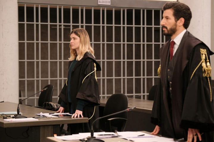 foto Vittoria Puccini e Francesco Scianna ne Il Processo