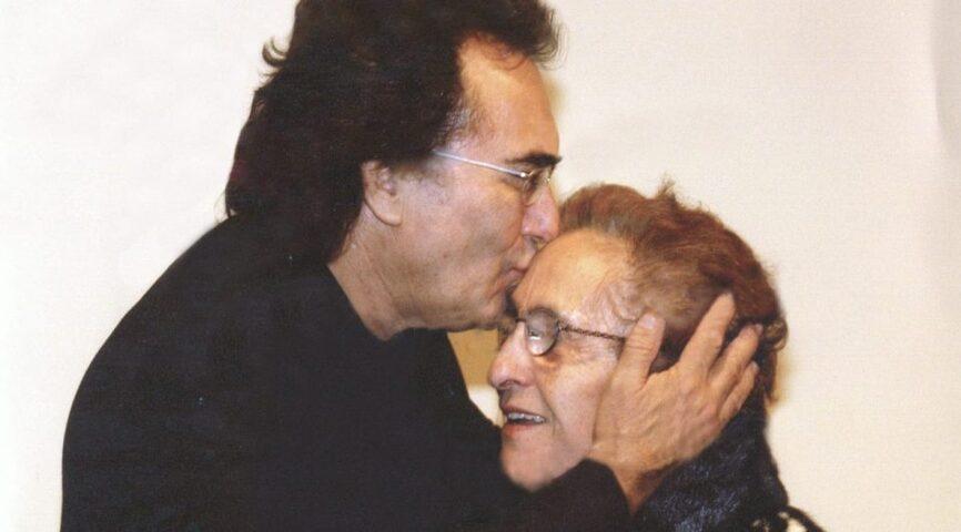 foto albano e mamma parla yari