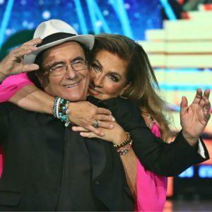 foto albano e Romina ospiti al festival di sanremo