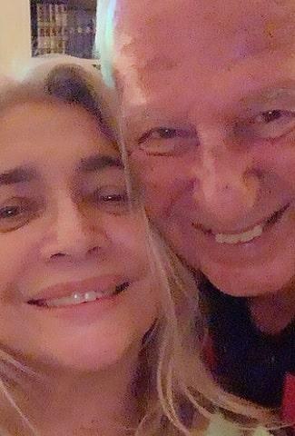 foto Mara Venier e Nicola Carraro, 23 dicembre