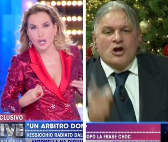 Foto Vessicchio Barbara d'Urso Live