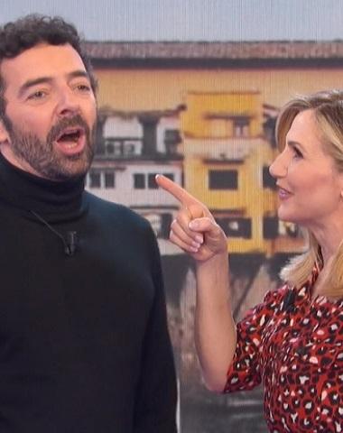 foto Alberto Matano e Lorella Cuccarini, 30 gennaio