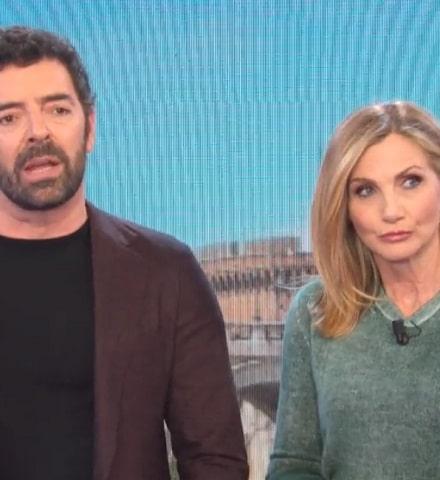 foto Alberto Matano e Lorella Cuccarini, 31 gennaio