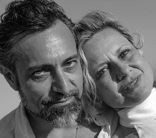 foto Antonella Elia e Pietro Delle Piane