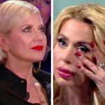 """Grande Fratello Vip, Valeria Marini contro Antonella Elia: """"Sei cattiva!"""""""