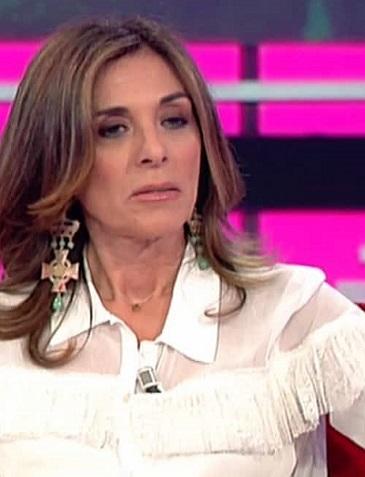 foto Emma D'Aquino a Sanremo