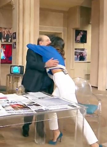 foto Giancarlo Magalli e Roberta Morise tornata