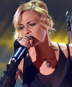 Foto Irene Grandi a Sanremo 2020