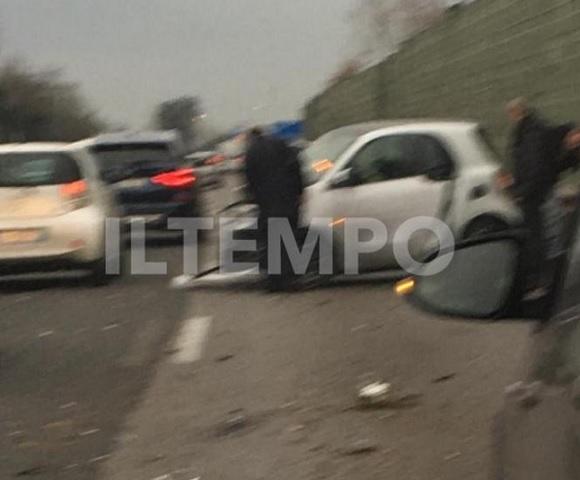 foto incidente Magalli