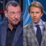 "Soliti Ignoti Amadeus, gaffe di Francesco Giorgino al TG1: ""Vi lascio…"""