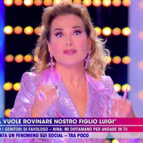 foto Barbara D'Urso contro Nina Moric forfait live non è la d'urso