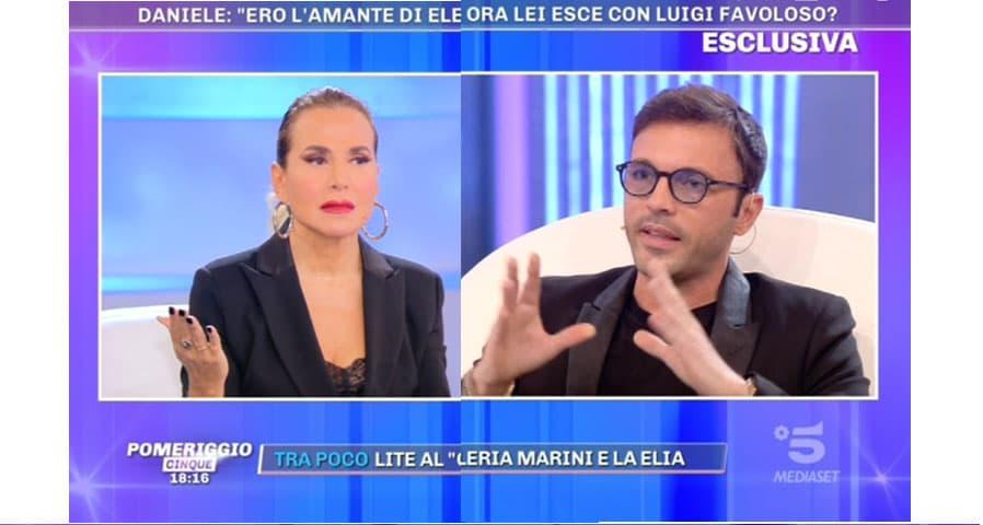 foto Barbara D'Urso e Daniele Di Lorenzo a Pomeriggio 5