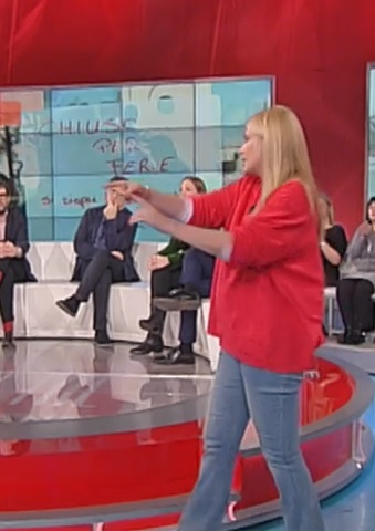 foto Eleonora Daniele 27 febbraio