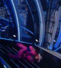 Foto Ghali cade scale Sanremo