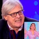 """Barbara D'Urso insultata da Sgarbi a Live: """"Hai rotto il ca**o!"""". VIDEO"""