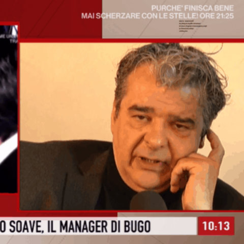 foto storie italiane manager Bugo lite morgan