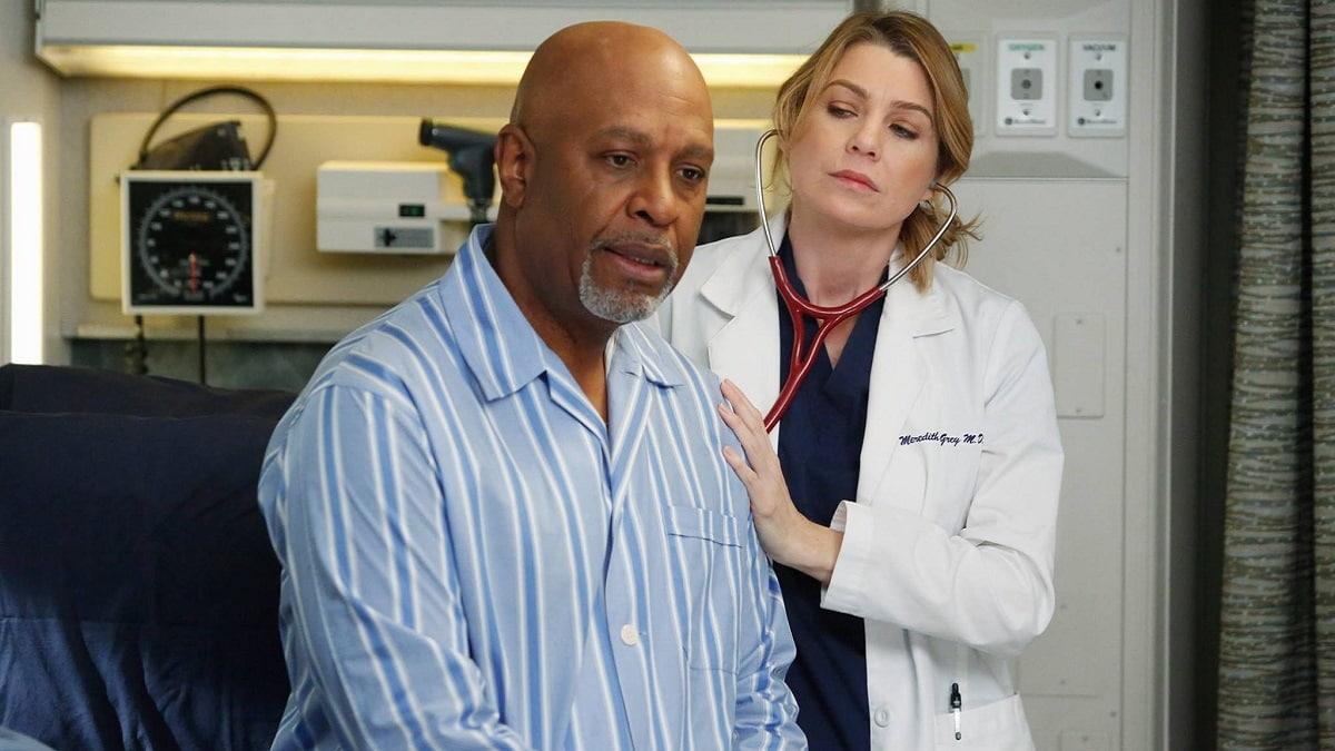 Foto Richard Webber e Meredith Grey