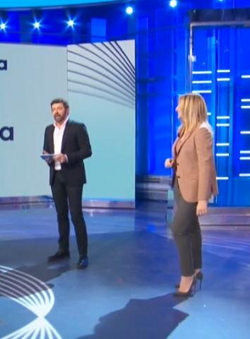 foto Alberto Matano e Lorella Cuccarini, 16 marzo