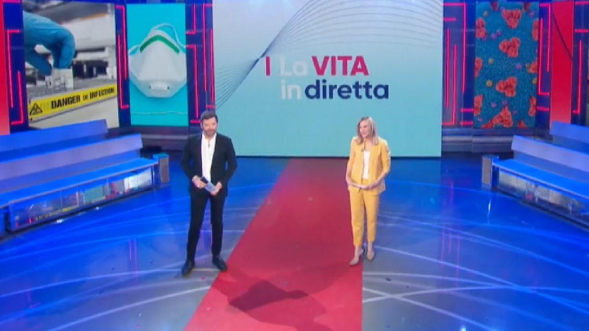 foto Alberto Matano e Lorella Cuccarini, 31 marzo