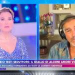 """Barbara D'Urso, confessione su Fabio Testi: """"Siamo stati a letto insieme"""""""