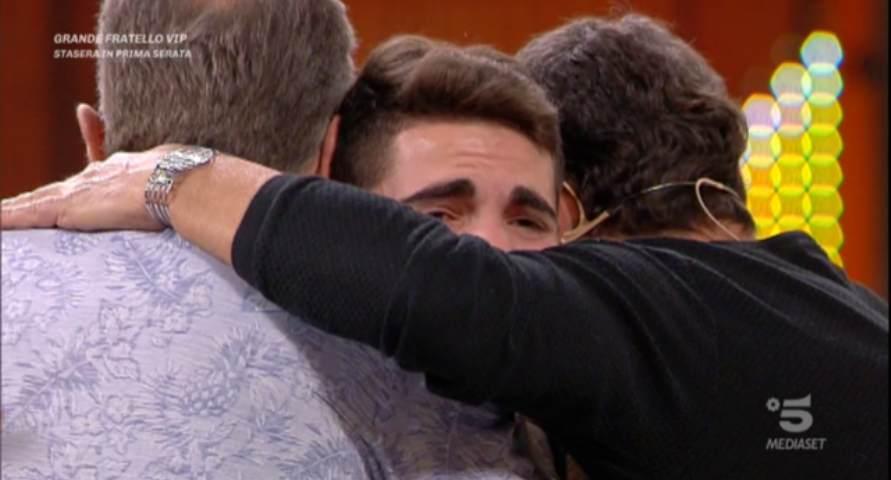 Foto Bonolis Laurenti concorrente piange