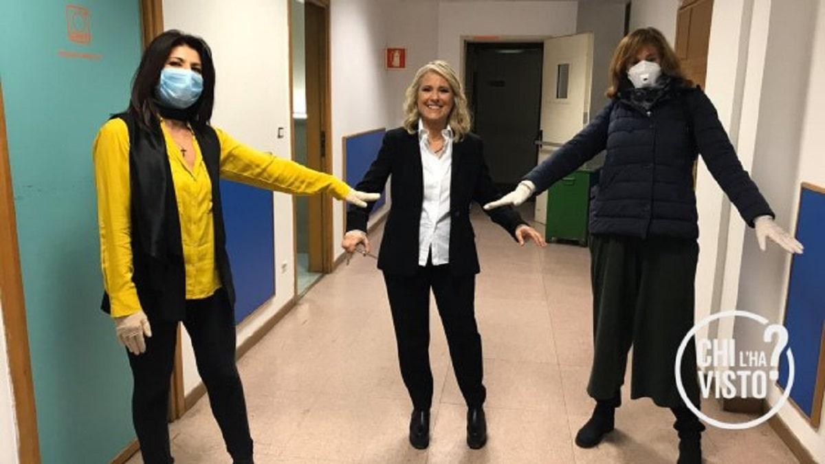 foto Federica Sciarelli fine quarantena