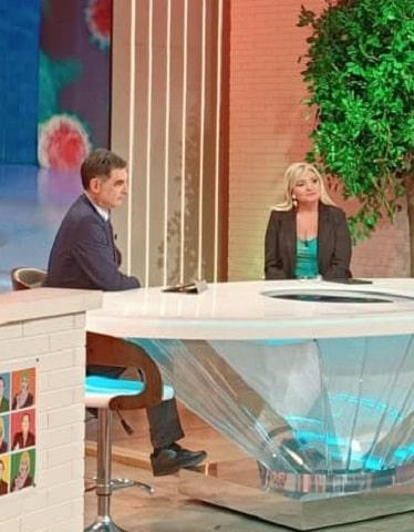 foto Tiberio Timperi e Monica Setta 16 marzo