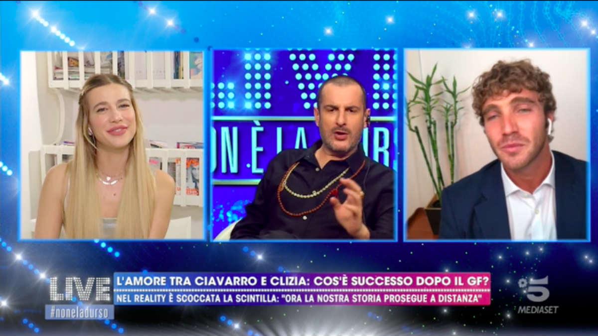 foto Clizia Incorvaia Paolo Ciavarro non è la d'urso
