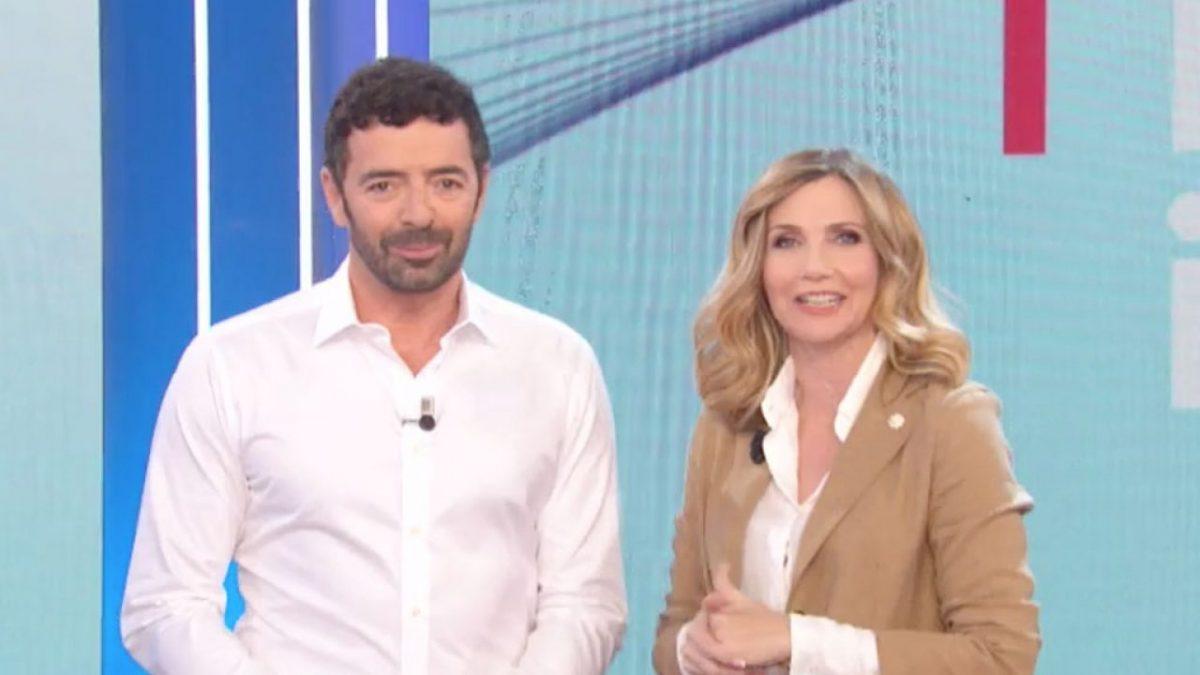 foto Lorella Cuccarini e Alberto Matano