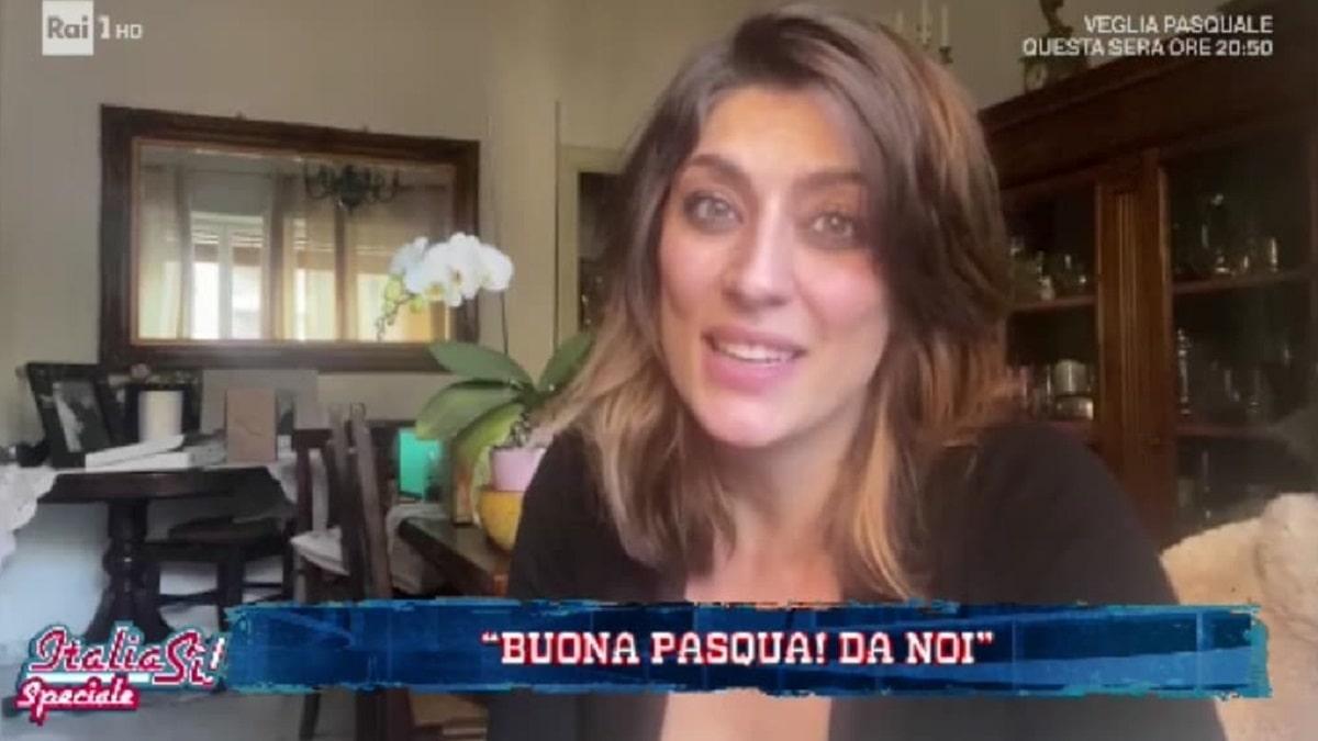 foto Elisa Isoardi a Italia Sì