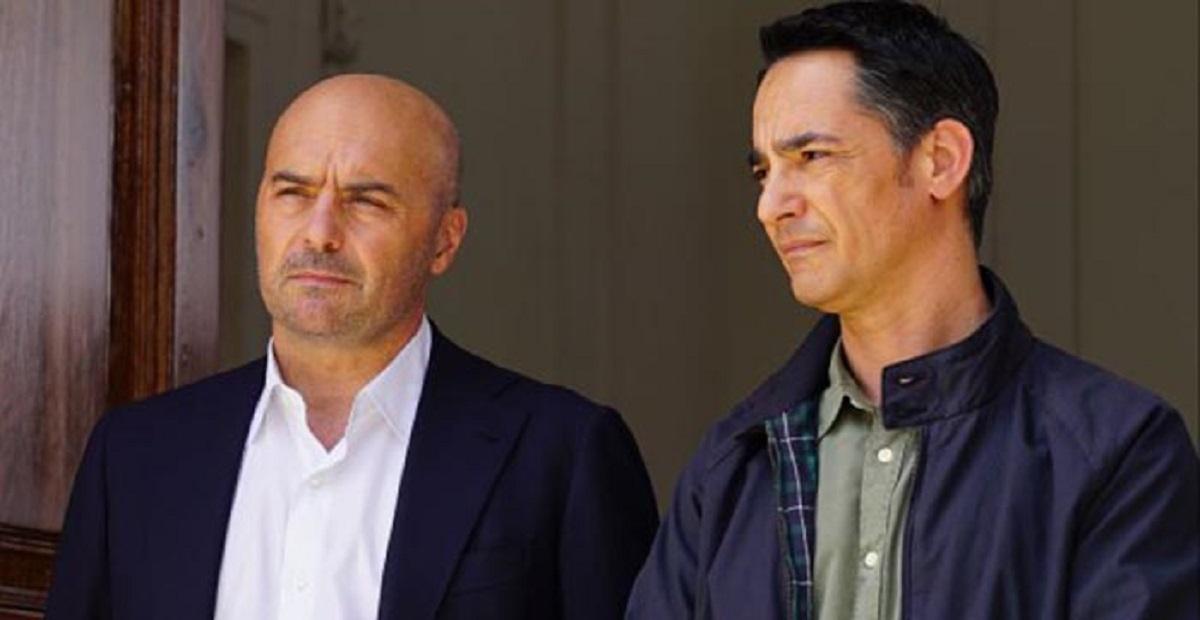 foto di Fazio e il commissario Montalbano