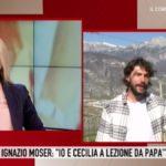 """Storie Italiane, Ignazio Moser fa una confessione: """"Mi sgrida sempre"""""""