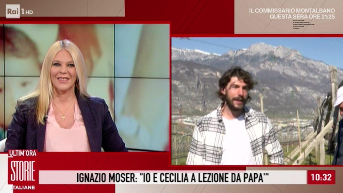 Foto Ignazio Moser Storie Italiane padre