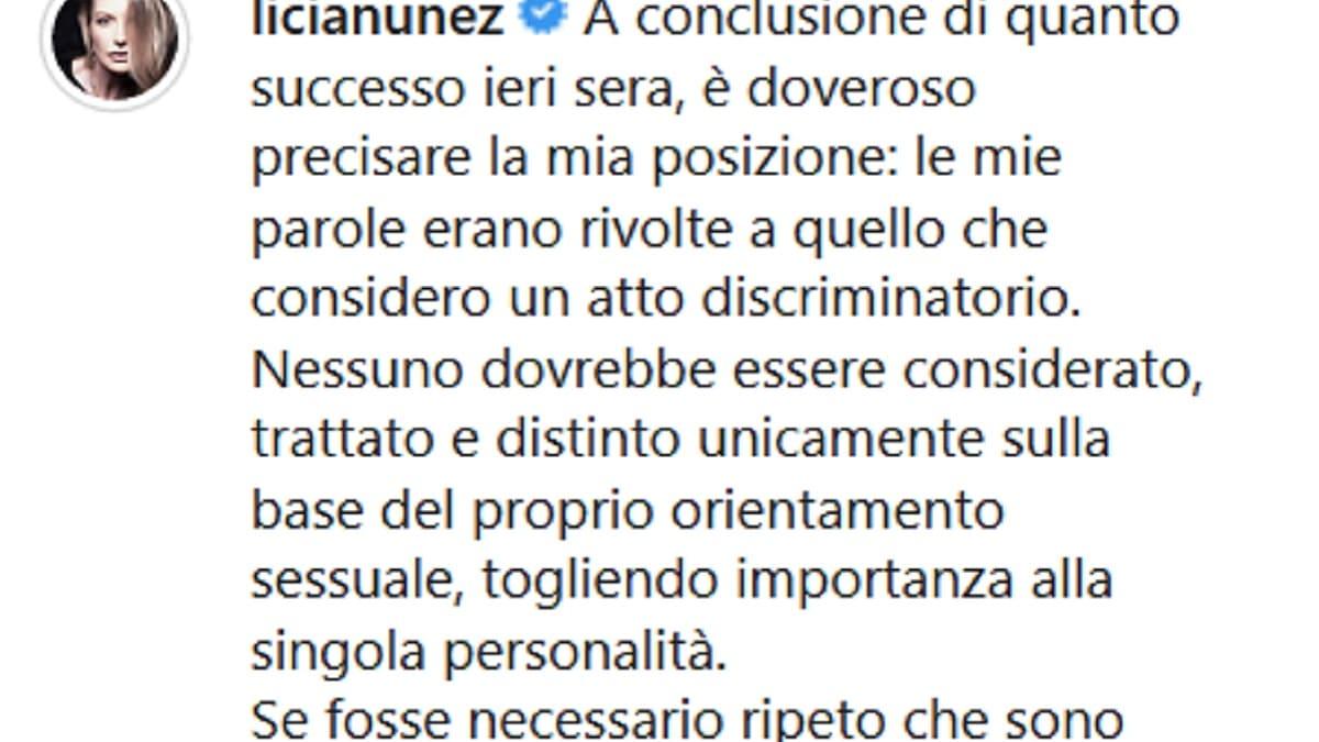 """Licia Nunez furiosa dopo il Grande Fratello Vip: """"Atto discr"""