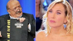 foto Maurizio Costanzo Barbara D'Urso eterno riposto critica