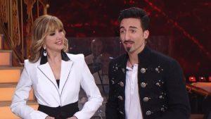 Samuel Peron e Milly Carlucci a Ballando con le stelle