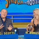 """Gerry Scotti su Michelle Hunziker: """"Risparmiamo tempo e… panico"""""""