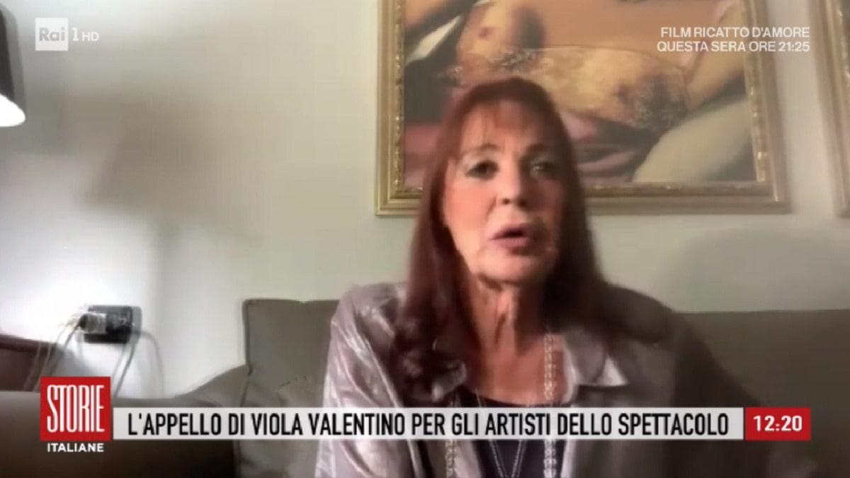 foto Viola Valentino a Storie Italiane 19 maggio