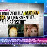 """Antonio Zequila, la ex rifiuta le nozze. Lui a Live: """"Amore non esaurito"""""""