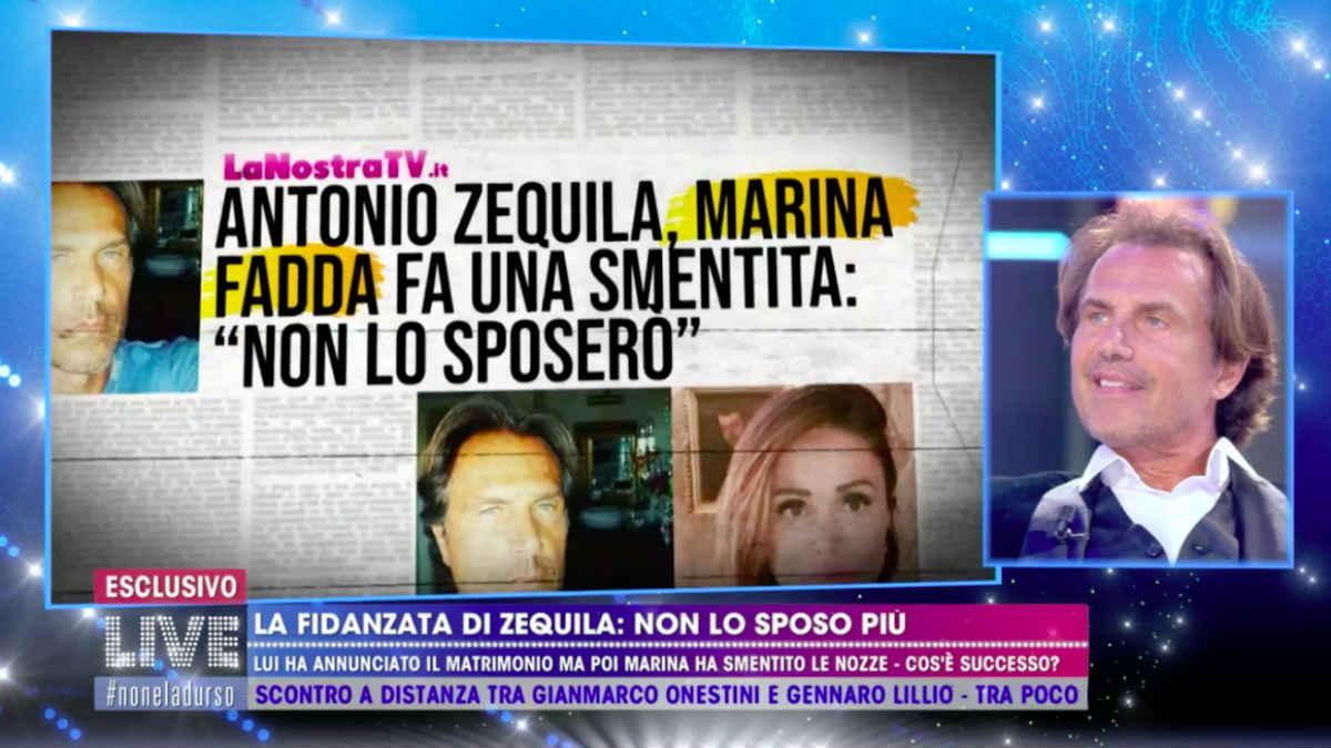 foto Antonio Zequila live non è la d'urso rivelazione